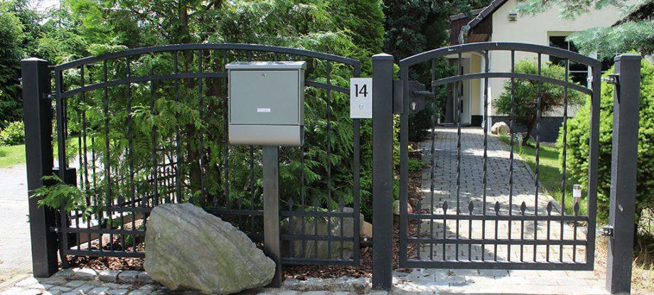 Angebot - Gartentüren aus Metall